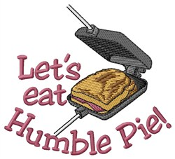 Humble Pie embroidery design