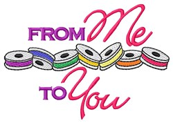 Me To You Bobbins embroidery design