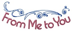 Me To You Border embroidery design