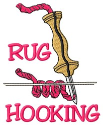 Rug Hooking embroidery design