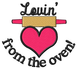 Lovin From Oven embroidery design