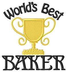 Best Baker embroidery design