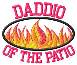 Daddio Of Patio embroidery design