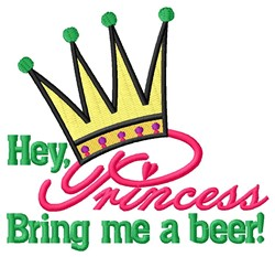 Bring Me Beer embroidery design