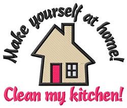 Clean Kitchen embroidery design