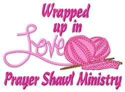 Wrapped In Love embroidery design
