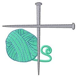 Cross Needles embroidery design