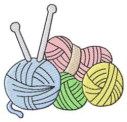 Yarn embroidery design