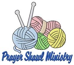 Prayer Shawl Yarn embroidery design