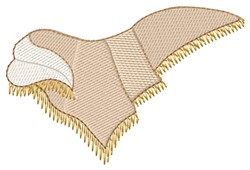 Shawl embroidery design