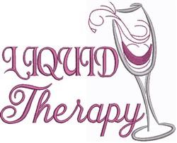 Liquid Therapy embroidery design
