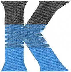 Small Toga Kappa embroidery design