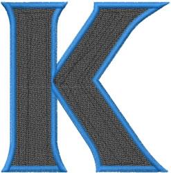 Toga Kappa embroidery design