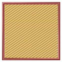 Textured Square embroidery design