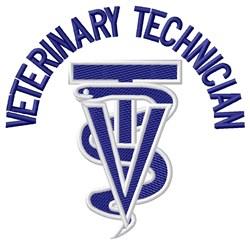 Veterinary Technician embroidery design