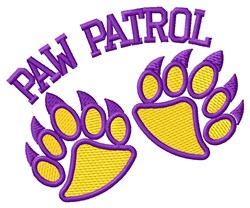Bear Paw Patrol embroidery design