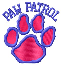 Dog Paw Patrol embroidery design