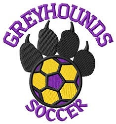 Greyhounds Soccer embroidery design