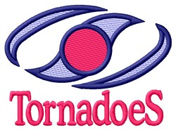 Tornadoes embroidery design