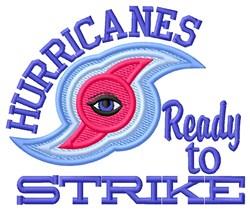Hurricanes Strike embroidery design
