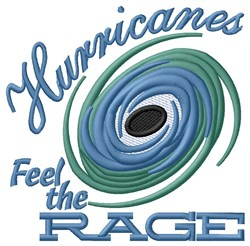Hurricane Rage embroidery design
