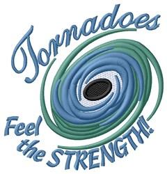 Tornado Strength embroidery design