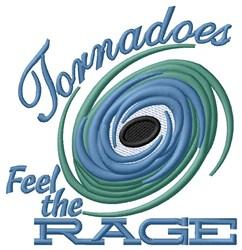 Tornado Rage embroidery design