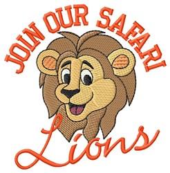 Join Safari embroidery design