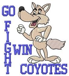 Go Fight Win embroidery design