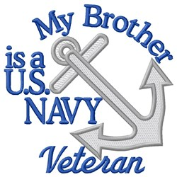 Brother Navy Vet embroidery design