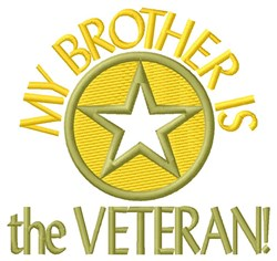 Brother The Veteran embroidery design