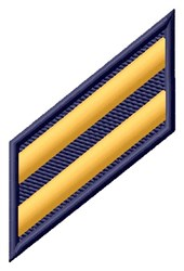 Two Stripes embroidery design