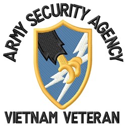 Vietnam Security Agency embroidery design
