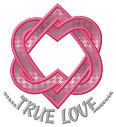 True Love Applique  embroidery design