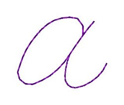 Nelly  Font a embroidery design