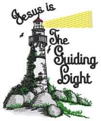 The Guiding Light embroidery design