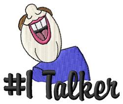 #1 Talker embroidery design