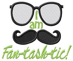 I Am Fantashtic embroidery design
