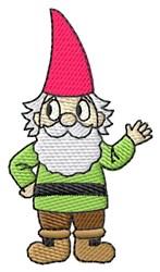 Garden Gnome embroidery design