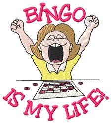 Bingo Life embroidery design