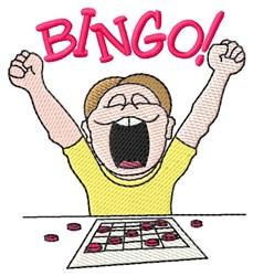 Bingo embroidery design