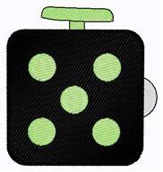 Fidget Cube embroidery design