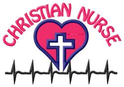 Christian Nurse embroidery design