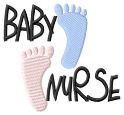Baby Nurse embroidery design
