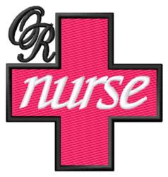 Operating Room Nurse embroidery design