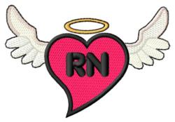 Registered Nurse embroidery design