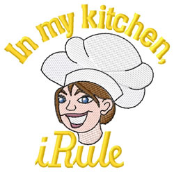 In My Kitchen iRule embroidery design