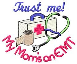 Trust Mom embroidery design