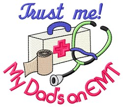 Dads An EMT embroidery design