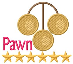 Pawn Stars embroidery design
